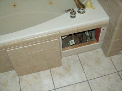 tub decks  access panels ceramic tile advice forums