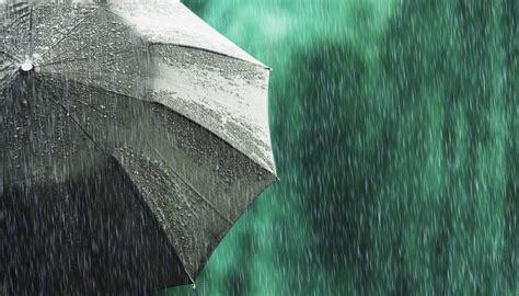 rain weather heavy winter hit parts south island umbrella zealand nz storm newshub par thunder