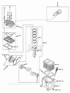 Campbell Hausfeld 4b246c Parts Diagram For Pump Parts