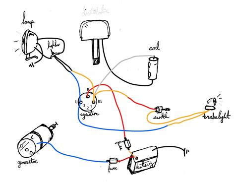 Cycle Electric Generator Wiring Diagram by Basic 12 Volt Wiring Diagram Wiring Diagram
