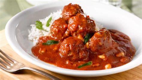 comment cuisiner les boulettes de viande des boulettes végétariennes à la sauce tomate maigrir