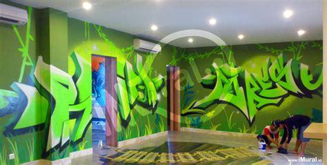 Graffiti Sebagai Alternatif Dekorasi Dinding