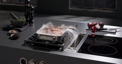 plan cuisine professionnelle normes la hotte intégrée à la table de cuisson un système innovant