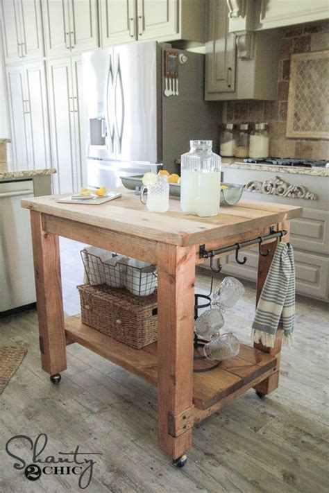 diy rolling kitchen island diy kitchen island free plans islands 6887