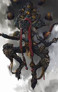 Demon Japonais Dessin : pingl par marie sur rpg pinterest concept art cr ature art fantastique et monstre fantastique ~ Maxctalentgroup.com Avis de Voitures