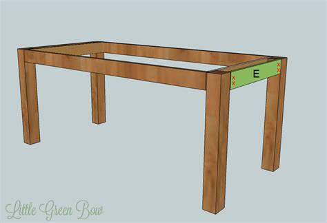 dining table construction plans home coldwellbankerindonesia com