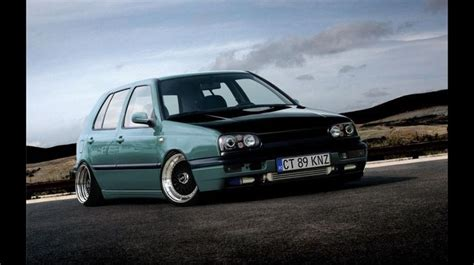 slammed volkswagen golf slammed vw golf mk3 vw golf pinterest