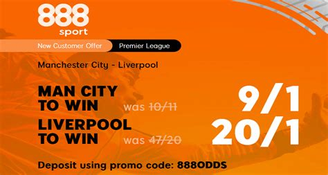 Man City v Liverpool Price Boost: Get 9/1 City Or 20/1 LFC ...