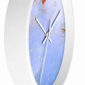 Unique, Wall, Clock, Blue, Analog, Clock, Choose, Frame, Color