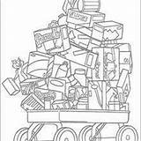 Food Coloring Hedge Rj Pages Verne Cart Hellokids Drawing sketch template