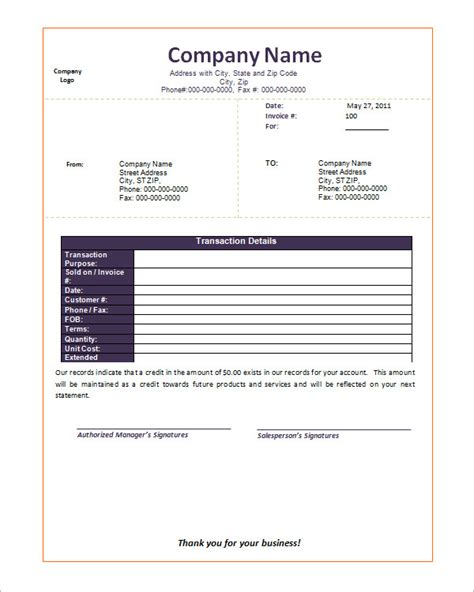Turabian Formate Template Microsoft Word by Search Results For Blank Format Of Credit Note