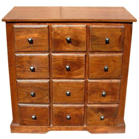Dresser Chest by Handmade Wooden Bedroom Storage Dresser Chest With 12 Drawers
