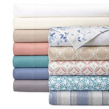 percale sheets for bed bath jcpenney