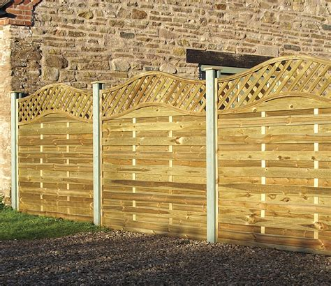 6x6 Trellis Panels by Elite St Meloir Fence Panel 1 8m 6x6 From Grange
