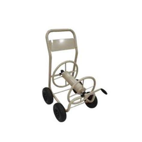 hton bay 4 wheel hose reel cart mrh250hb the home depot