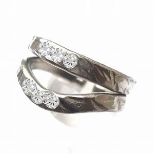 pewter two become one ring lisa kelleher mythical With pewter wedding rings