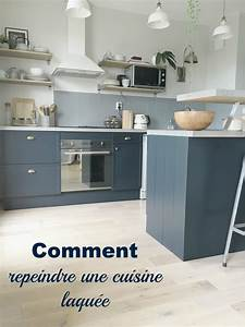 Comment Renover Une Cuisine : comment repeindre une cuisine laqu e home by marie ~ Nature-et-papiers.com Idées de Décoration
