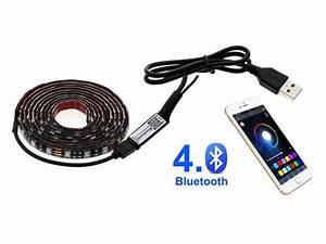 Led Band Fernbedienung : buntes usb led band mit fernbedienung im smartphone ~ Watch28wear.com Haus und Dekorationen