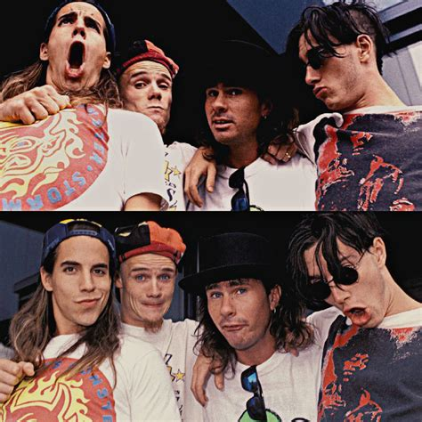 Young Red Hot Chili Peppers John Frusciante Anthony Kiedis
