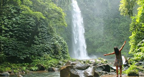 nungnung waterfall wonderful bali nature heritages