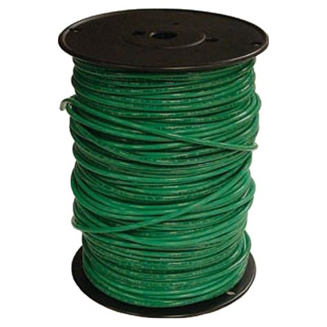 southwire 500 ft 10 green solid cu thhn wire 11599801 the home depot