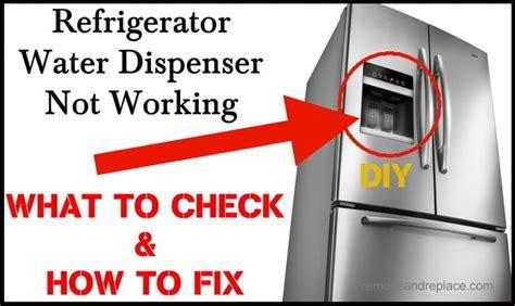 unclog drain   frigidaire refrigerator