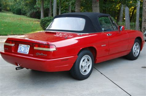 1991 Alfa Romeo Spider For Sale by 1991 Alfa Romeo Spider Classic Italian Cars For Sale