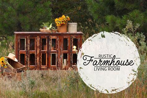 rustic farmhouse living room front door