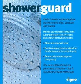 showerguard protect steam showers shower enclosure glass