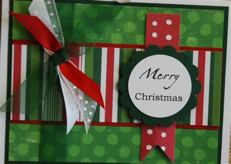 mom   scrapbooking christmas cards