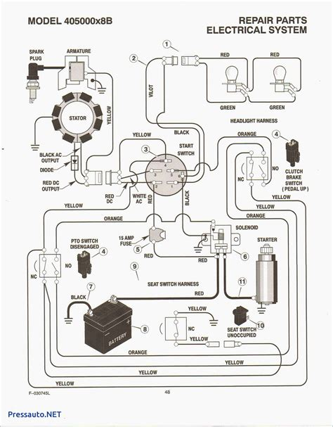 5 Hp Brigg And Stratton Wiring Diagram by Briggs And Stratton 5 Hp Outboard Wiring Diagram Wiring