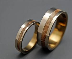 Pinterest discover and save creative ideas for Wood and silver wedding rings