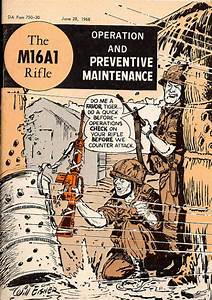 M16a1 Maintenance Comic