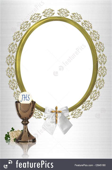 communion oval photo frame