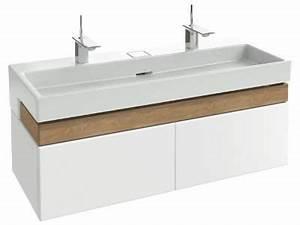 terrace meuble sous plan vasque 120 cm jacob delafon With meuble salle de bain une vasque 120 cm