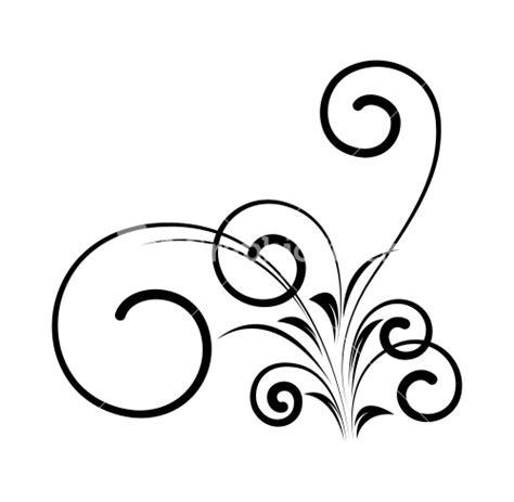 Decorative Swirls - decorative swirl stock image