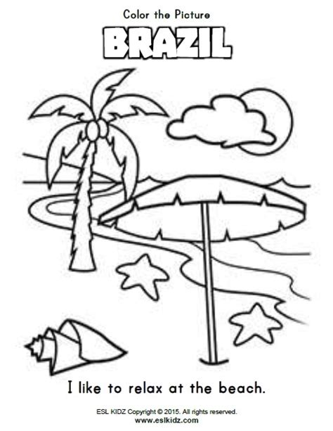 brazil worksheets activities games  worksheets  kids