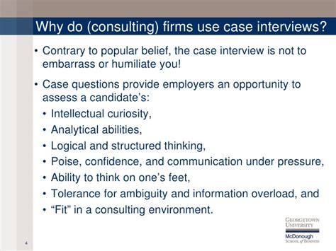 interview case case interview overview