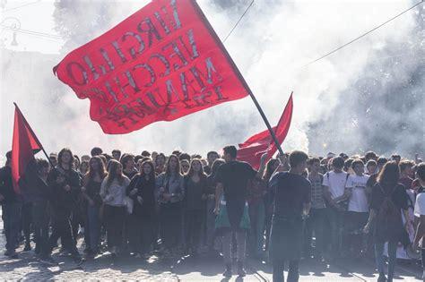 studenti roma roma studenti in piazza contro 171 alternanza scuola lavoro