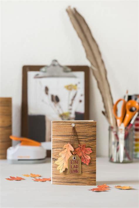 DIY Invitation cards for the autumn birthday #autumn #
