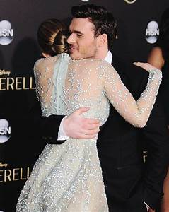 valentine: DEAR LILY JAMES & RICHARD MADDEN | CINDERELLA ...