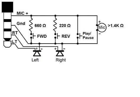 Galaxy Headset Mic Button Wiring Schematic Pinout
