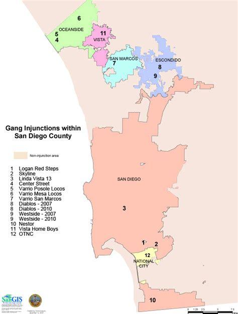 offenders san diego map photoaltan9 san diego gang