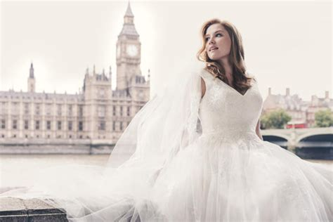 David's Bridal Features Size-14 Model In New Wedding Dress