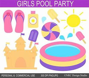 Free Pool Party Clipart (76+)