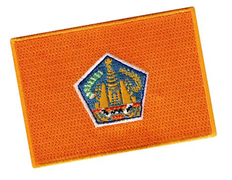 bali flag patch
