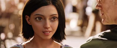 Alita: Battle Angel trailer   Well, I'm creeped out