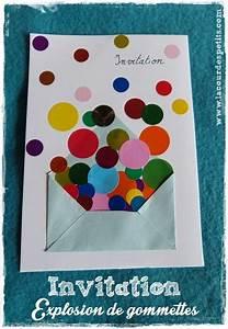 Carte Anniversaire Pour Enfant : des invitations d 39 anniversaire en couleur ~ Melissatoandfro.com Idées de Décoration