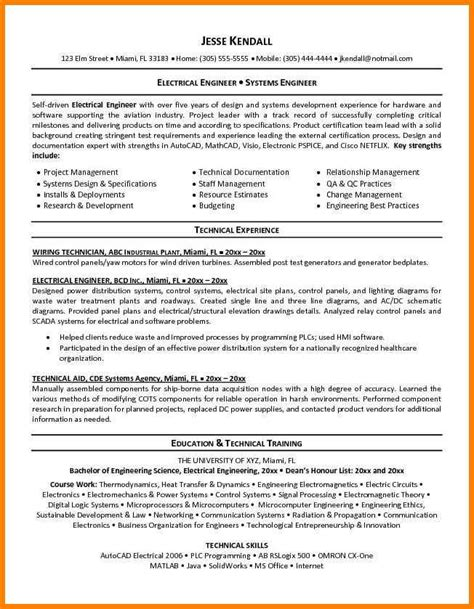 8 electrical site engineer resume dragon fire defense