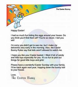 easter bunny letter 7 download free documents in pdf word With letter to easter bunny template